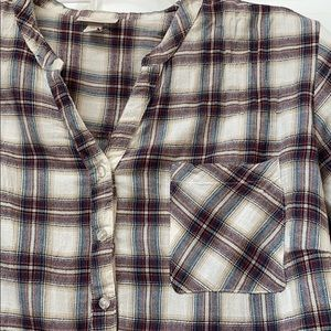 Dress Barn Tops - Dress Barn plaid tunic size 1X